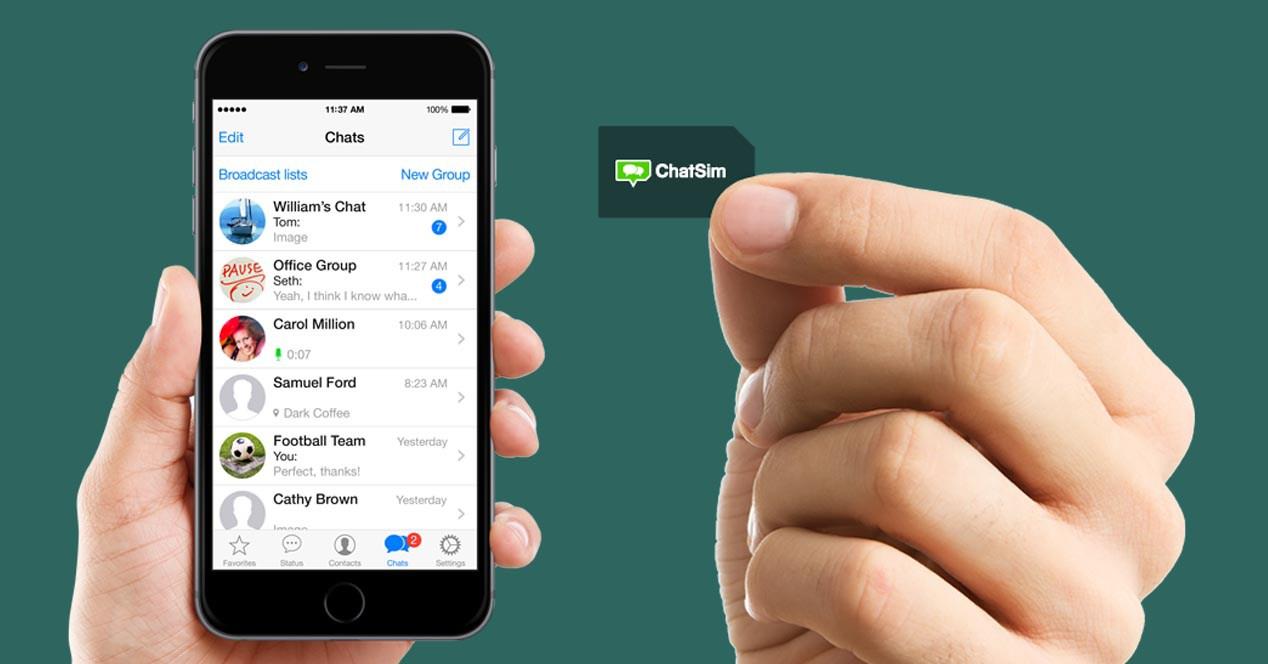 ChatSIM: ecco la SIM che introduce le chiamate vocali con Whatsapp