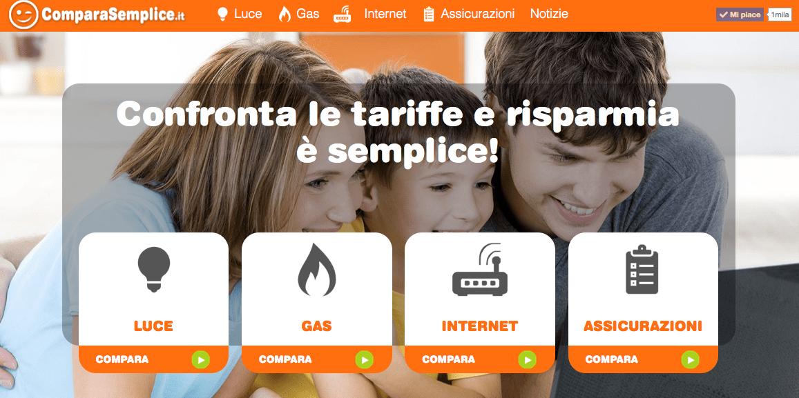 Compara Semplice: compariamo le tariffe e le offerte su tutti i servizi, gratis