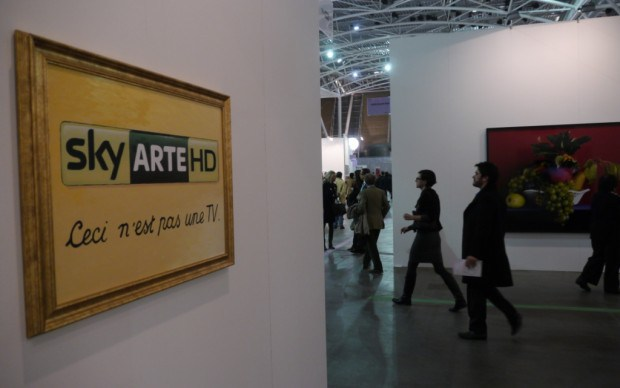 Sky arte HD per i musei