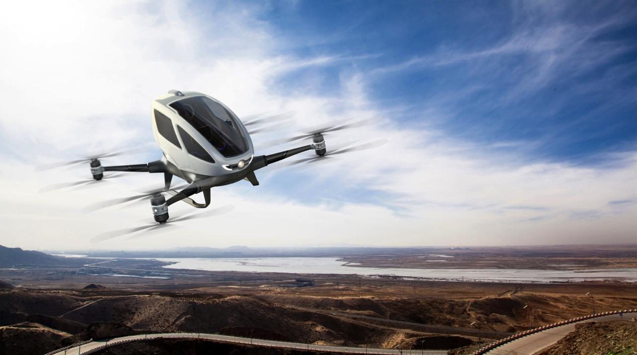 Droni Taxi volanti? il CES 2016 è anche questo!