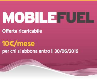 Fastweb Mobile Fuel 2GB: Internet, minuti e sms