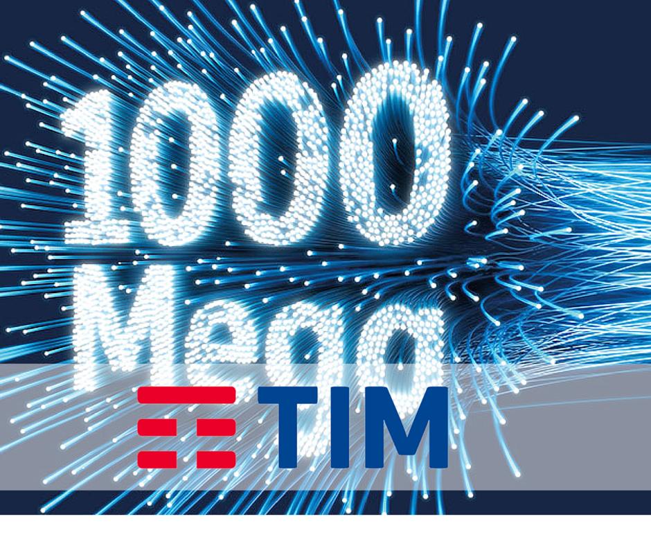 TIM Internet Fibra 1000 Mega: partecipa alla sperimentazione