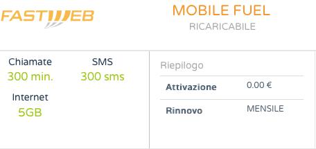 Scopri MobileFuel: l'offerta Fastweb per il tuo cellulare