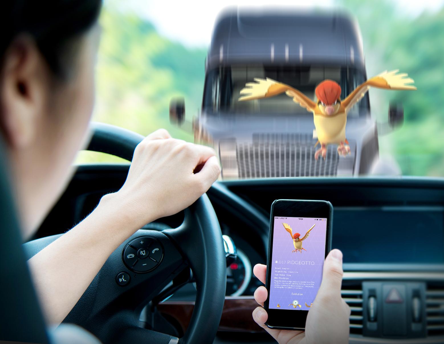 Pokemon Go: è allarme per la sicurezza stradale