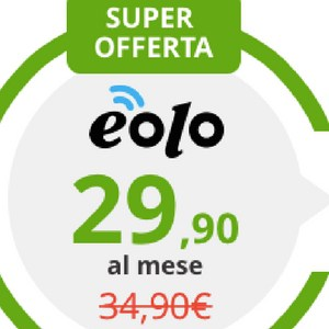 Offerte Internet wireless e telefono Eolo: Professional 0 Limits
