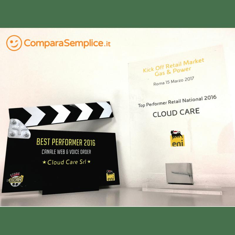 Eccellenza ComparaSemplice: Eni premia le performance del comparatore per il mercato Retail Gas & Power 2016