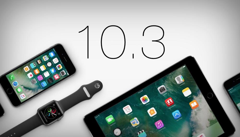 Aggiornamento iOS 10.3. 5 motivi per scaricarlo