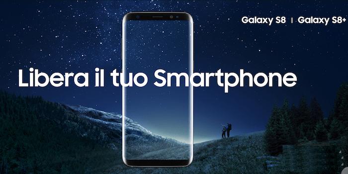 Samsung Galaxy S8 in promozione con Wind: Promo Giga Box