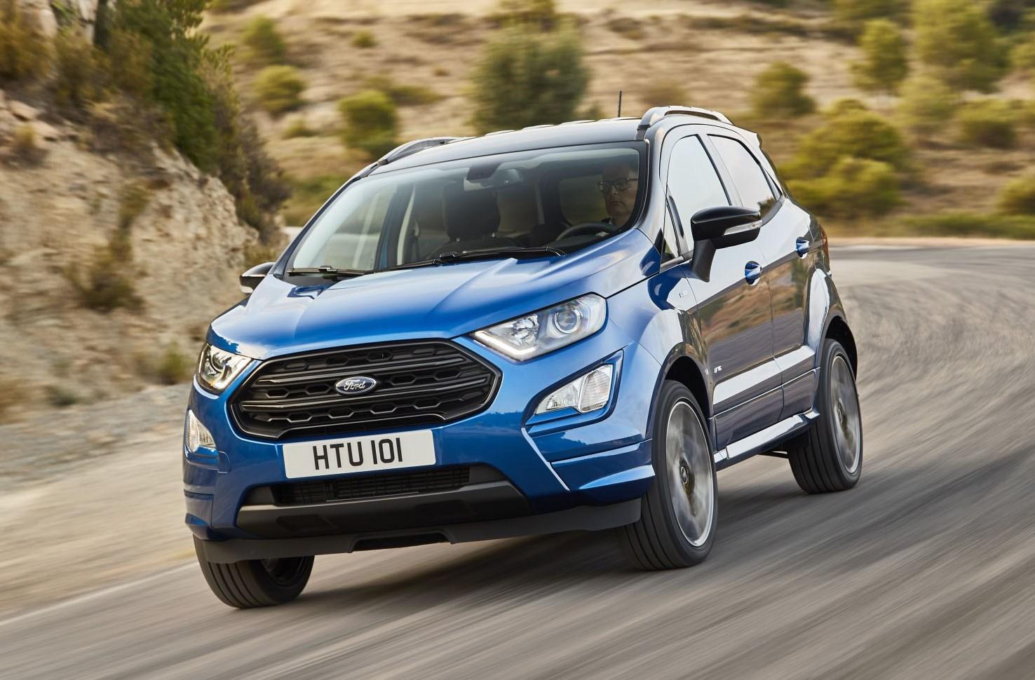 Ford EcoSport, fa il verso alla Edge. Arriva la trazione integrale e gli interni stile Fiesta
