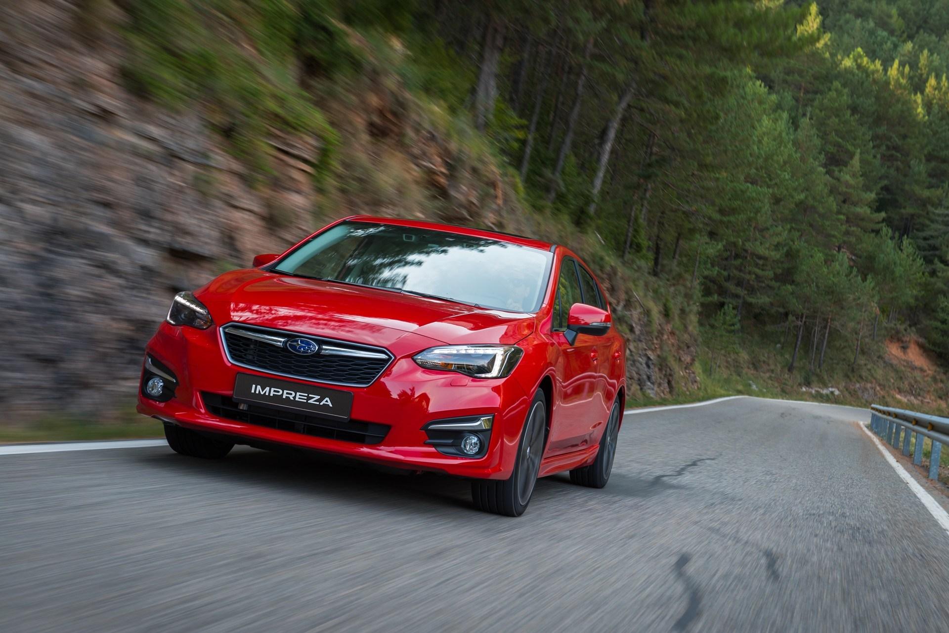 Subaru Impreza: per l'Europa, nella sola versione con motore 1.6 e EyeSight di serie