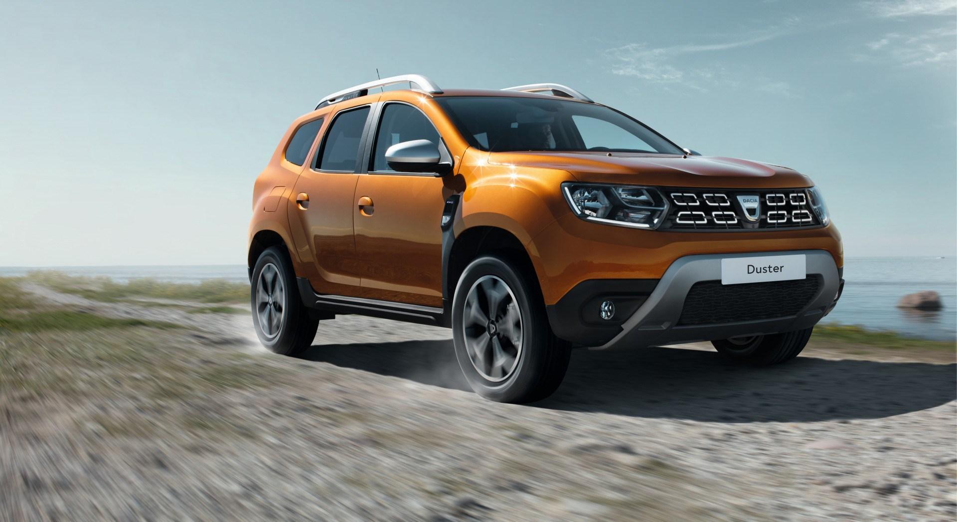 Dacia Duster 2018: arriva un po' di high tech