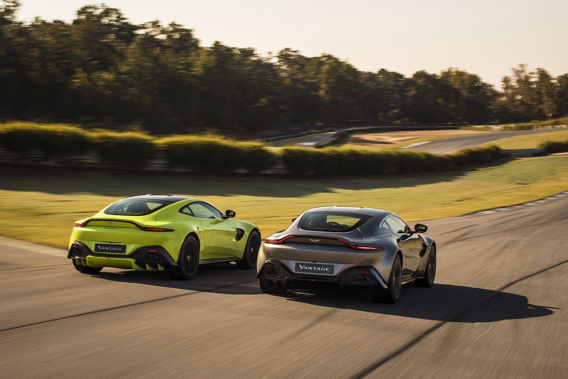 Aston Martin Vantage: V8 da 510 CV di derivazione Mercedes-Benz
