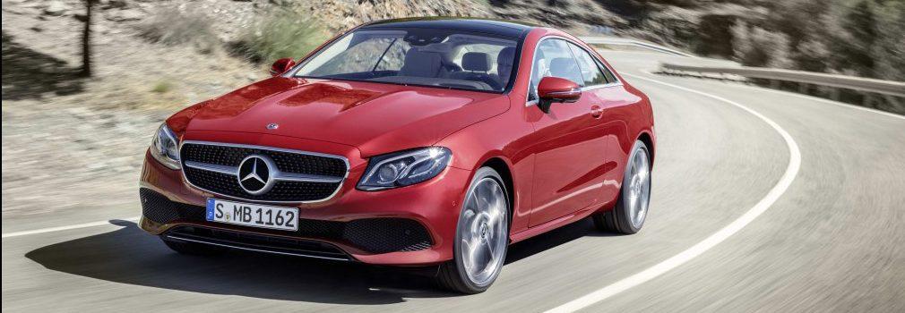Mercedes-Benz Classe E Coupé e Cabriolet: Nuove ibride a bassi consumi