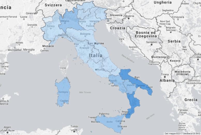 Ultra broadband in Italia nel 2017