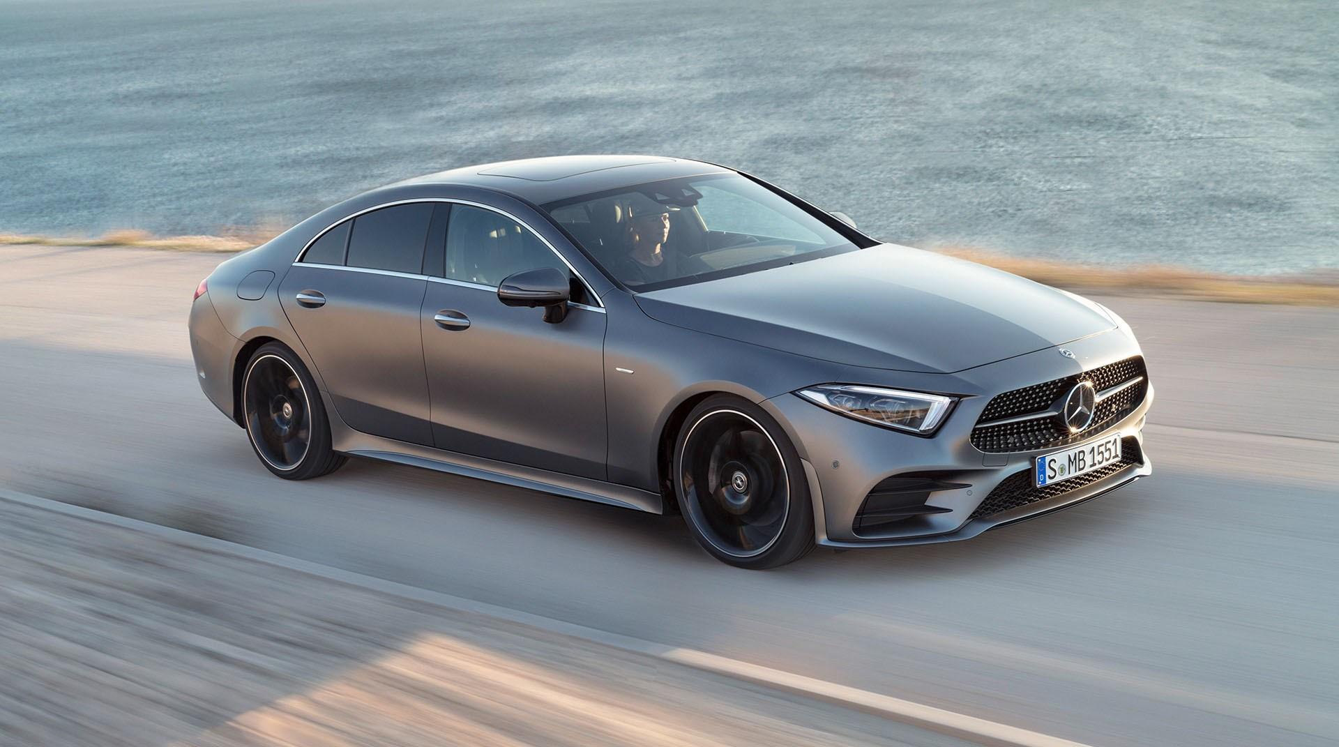 Mercedes-Benz CLS: design rivisto e nuovi motori, compreso il mild hybrid a 48 volt