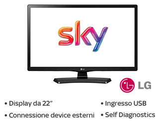Offerte Sky: i pacchetti con Tv in regalo fino al 18/12