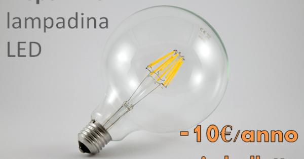 Lampadine A Led Quanti Watt.Quanto Si Risparmia Con Le Lampadine A Led L Infografica