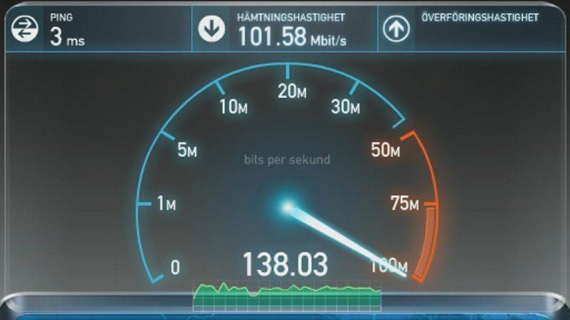 speed test fibra