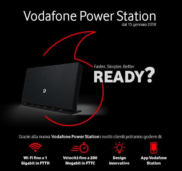 Nuova Vodafone Power Station: caratteristiche, funzionalità e costi