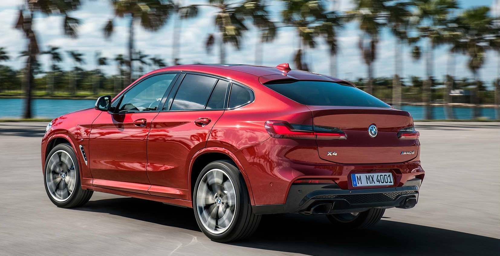 BMW X4 2018: rinnovato lo Sport Activity Coupé tedesco