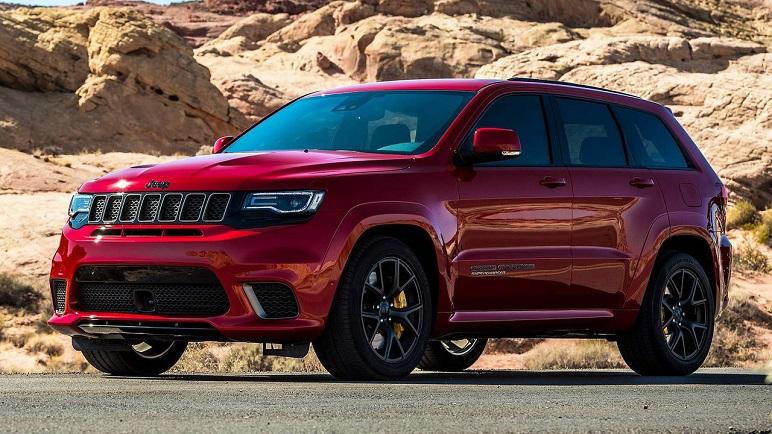 Jeep 2018: Wrangler, Cherokee e Grand Cherokee Trackhawk