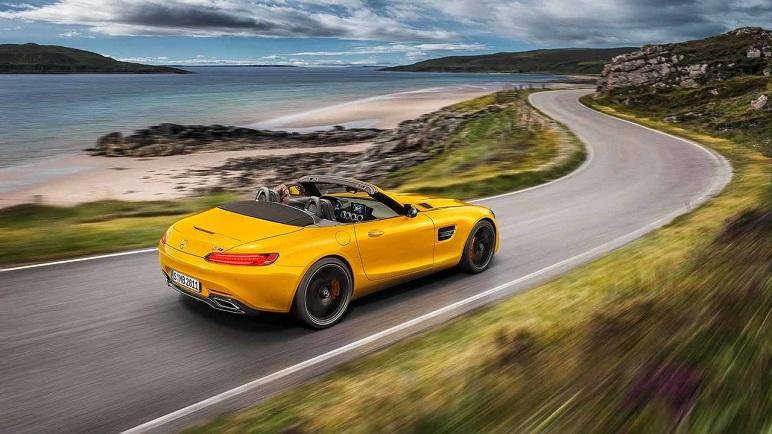 Mercedes-Benz AMG GT S Roadster, caratteristiche della spider da 522 CV
