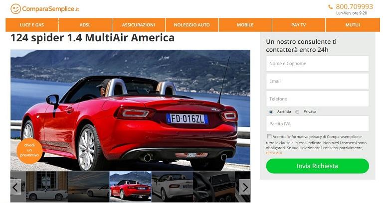Noleggio a lungo termine: offerte di giugno… a tutto Fiat!