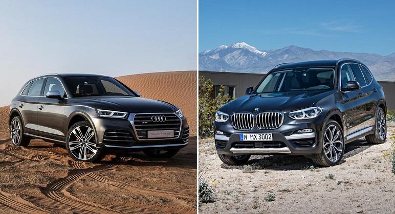 BMW X3 Vs Audi Q5: i SUV così uguali… così diversi