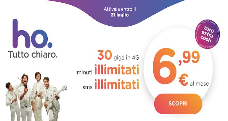 Vodafone lancia l'operatore low cost Ho.: minuti, sms e 30 GB a 6,99€
