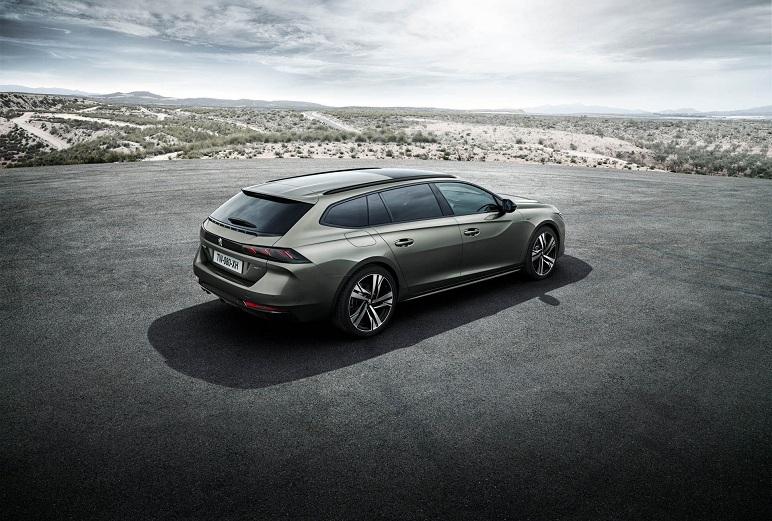 Peugeot 508 SW: arriverà nel 2019. Ecco le caratteristiche