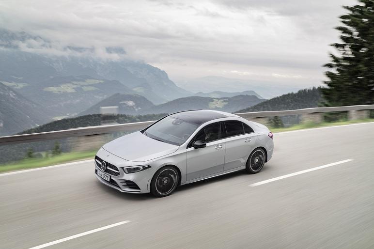Mercedes-Benz Classe A Berlina 2019 – le caratteristiche della sedan