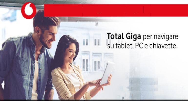 Vodafone offerte tablet: quali sono e quanto costano