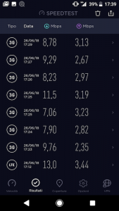 speed test ho mobile