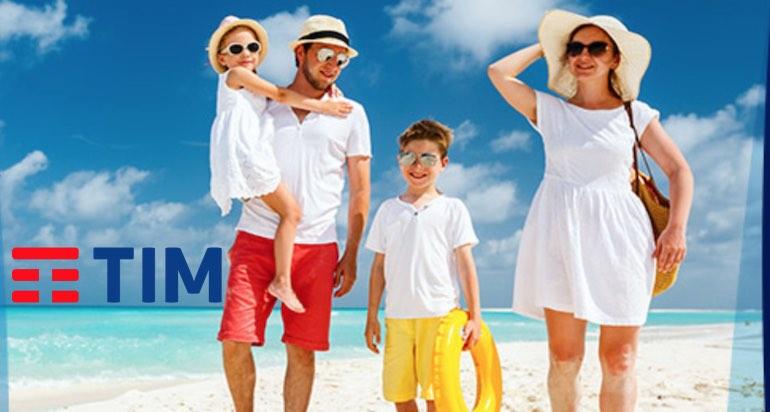 Promozione TIM 100% x3 Family Edition: 5 GB gratis al mese su tre sim