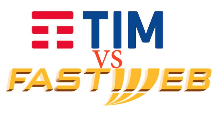 Confronto fibra TIM e Fastweb gennaio 2019: quale scegliere e perché