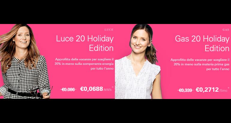 Promozioni Enel luce e gas: ultimi giorni per lo sconto del 20%