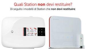 Vodafone Station da non restituire