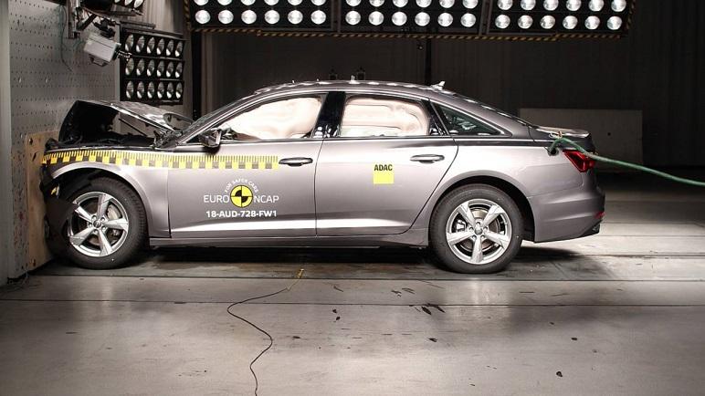 Euro NCAP: Crash Test da record per Audi A6 e Volkswagen Touareg