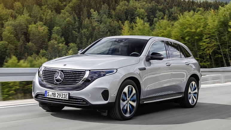 Mercedes-Benz EQC, le caratteristiche della prima elettrica tedesca