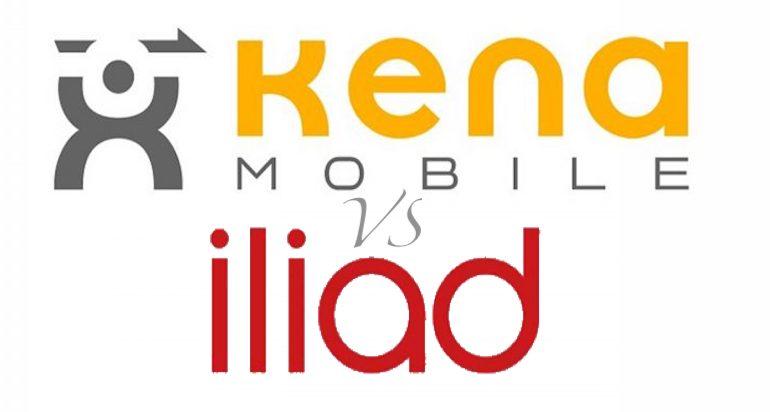 Iliad o Kena Mobile: quale operatore low cost scegliere