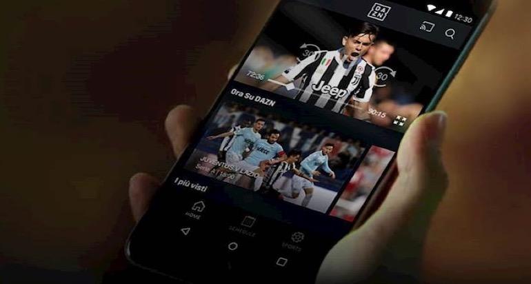 """Quanti giga consuma DAZN: quanto ti """"costa"""" vedere il calcio su mobile"""