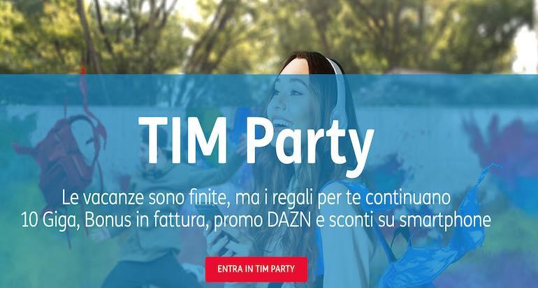Tim Party si paga? Come funziona il programma a premi