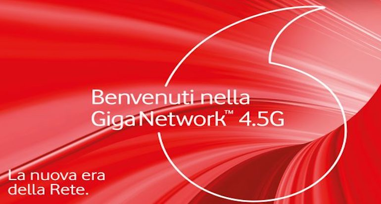 Vodafone lancia Giga Network: connessione mobile fino a 1 Gigabit
