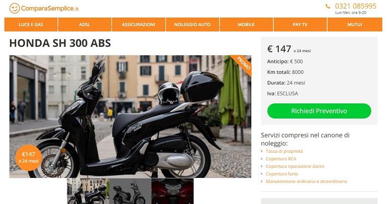 Novembre 2018 – Offerte di noleggio lungo termine moto e scooter