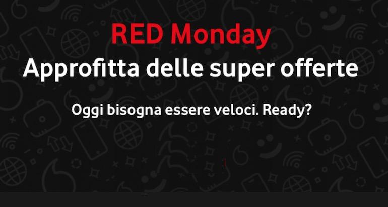 Sconti Vodafone su fisso, mobile e prodotti: arriva il Cyber Monday
