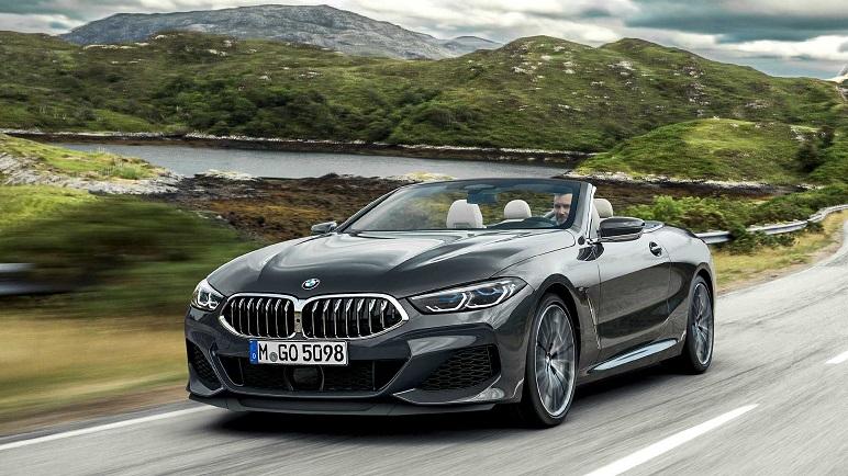 BMW Serie 8 Cabrio: caratteristiche della cabriolet