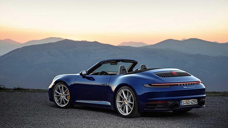 Porsche 911 Cabrio: le caratteristiche della nuova decappottabile