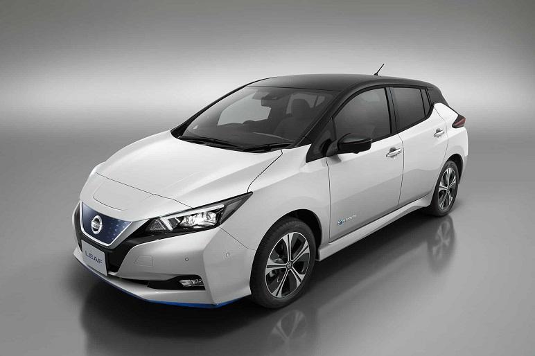 Nissan Leaf e+: 400 km d'autonomia e 160 kW. Caratteristiche