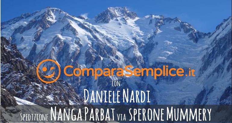 ComparaSemplice.it con Daniele Nardi per la sfida al Nanga Parbat