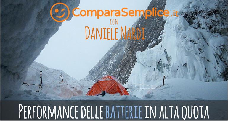 Batterie in alta quota: i consigli di Daniele Nardi dal Nanga Parbat